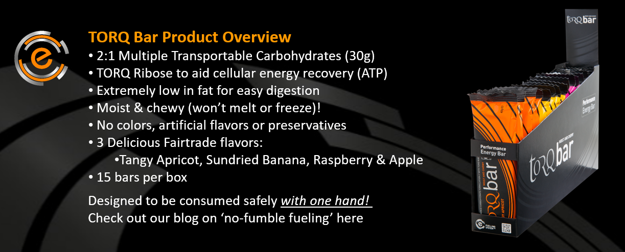 TORQ Energy Bar Overview